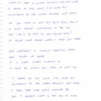my-happiness-hand-written-lyrics-by-bernard-fanning