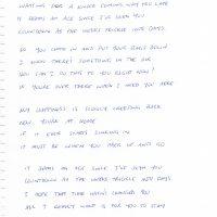 my-happiness-hand-written-lyrics-by-bernard-fanning