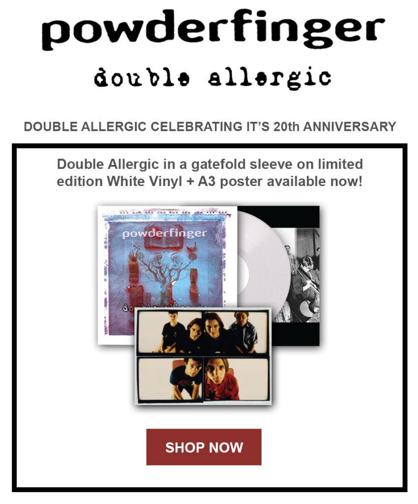 Double Allergic 20th Anniversary Vinyl Release - Powderfinger