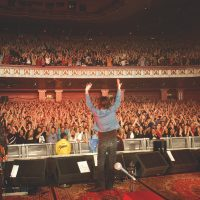 Powderfinger, live at the Hammersmith Apollo, London, UK, on 13 March 2004, Darren Middleton - guitar Ian Haug - guitar Bernard Fanning - vocals, guitar John Collins - bass Jon Coghill - drums